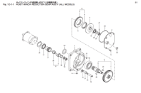 HOIST WINCH REDUCTION GEAR ASS'Y (ALL MODELS)
